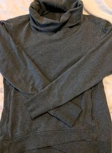 Charcoal On the Double Pullover